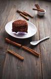 Lebensmittel des Schokoladen-Kuchens Lizenzfreie Stockfotografie