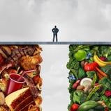 Lebensmittel-Diät-Konzept lizenzfreie abbildung