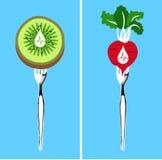 Lebensmittel dieser niedrigere Blutdruck Stockbilder