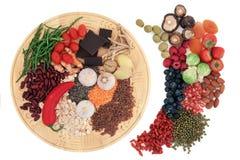 Lebensmittel für Gesundheit Lizenzfreies Stockfoto
