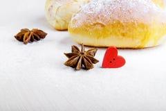 Lebensmittel gekocht mit Liebe Stockbilder