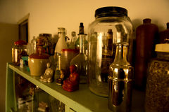 Lebensmittel-Gläser stockbild