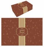 Lebensmittel-Kasten-Verpackung Stockfotos