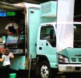 Lebensmittel-LKW angemessen in Mexiko City Stockfotografie