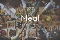 Lebensmittel-pikante köstliche Küche-appetitanregendes Konzept stockbild