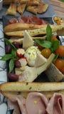Lebensmittel-Servierplatte Lizenzfreie Stockbilder