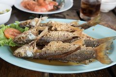 Lebensmittel Thailand als FischrogenFischsauce Stockbild