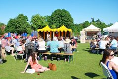 Lebensmittel und Getränk-Festival, Tenterden Stockfotos