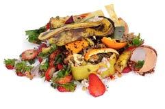 Lebensmittelabfälle Stockbild