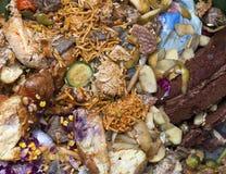 Lebensmittelabfälle Stockfoto