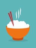 Lebensmitteldesign, Vektorillustration Stockfoto