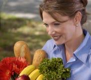 Lebensmittelgeschäft-Einkaufen Lizenzfreie Stockfotos
