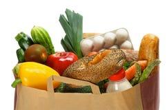 Lebensmittelgeschäft-Tasche Lizenzfreies Stockfoto