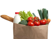 Lebensmittelgeschäfte stockfoto
