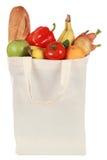 Lebensmittelgeschäfte in einer Tasche Lizenzfreies Stockfoto