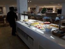 Lebensmittelhotel stockbild