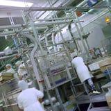 Lebensmittelindustrie stockfotografie