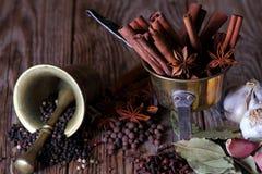 Lebensmittelinhaltsstoffe für das Kochen Lizenzfreie Stockfotografie
