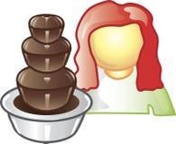 Lebensmittellieferant-Ikone Stockbilder