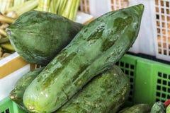 Lebensmittelmarkt auf Koh Phangan, Thailand lizenzfreie stockfotografie