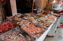 Lebensmittelmarkt in Shanghai Lizenzfreie Stockbilder