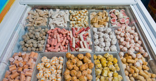 Lebensmittelmarkt in Shanghai Lizenzfreies Stockfoto