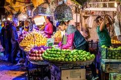 Lebensmittelmarkt in Shiraz lizenzfreies stockbild