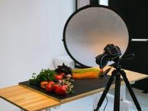 Lebensmittelphotographiefotostudio-Kunstblog Lizenzfreie Stockfotografie