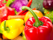 Lebensmittelsatz Lizenzfreies Stockfoto