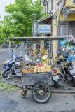 Lebensmittelstraße in Hoi An, Vietnam stockfotos