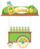 Lebensmittelverkäufer Lizenzfreie Stockbilder