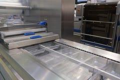 Lebensmittelverpackungs-Industrieausrüstung Stockfotografie