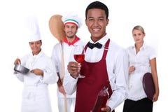 Lebensmittelversorgungsindustrie Lizenzfreies Stockfoto