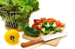 Lebensmittelzubereitung Lizenzfreie Stockfotos