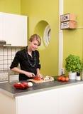 Lebensmittelzubereitung Lizenzfreies Stockfoto