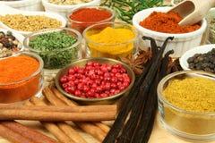 Lebensmittelzusatzstoffe Stockfoto