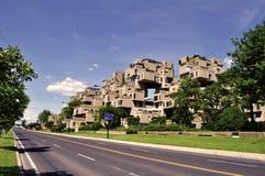 Lebensraum 67 - Montreal Stockfotos