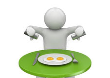 Lebensstil - Frühstück Stockfoto