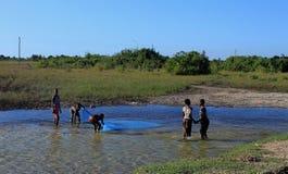 Lebensstil Mosambik stockfoto