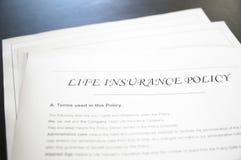 Lebensversicherung lizenzfreies stockfoto
