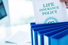 Lebensversicherung Stockbild