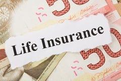 Lebensversicherung Stockfotos