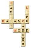 Lebenswerk und Balance Stockbilder