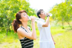 Lebenswichtiges Wasser Lizenzfreies Stockbild