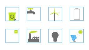 Lebhafte quadratische Ikonen für Ihre Website, Anwendung, Darstellung oder Film stock video footage