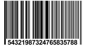 Lebhafter Barcode