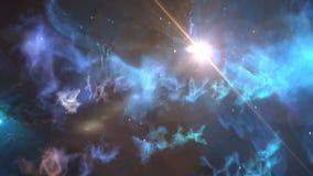 Lebhafter Hintergrund der Sterne stock abbildung