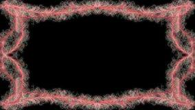 Lebhafter Rahmen der Rotstrudel, Gesamtlänge auf Lager lizenzfreie abbildung
