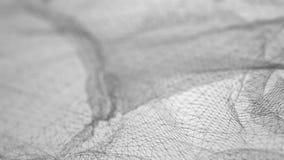 Lebhaftes abstraktes wireframe niedrig-Poly-nahtlose Schleife 3D stock abbildung