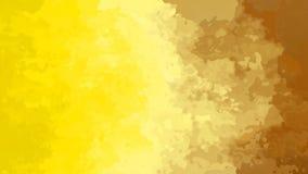 Lebhaftes beflecktes nahtloses Schleifenvideo des Hintergrundes - Aquarelleffekt - beige braune Steigung des gelben Ockers Farb vektor abbildung